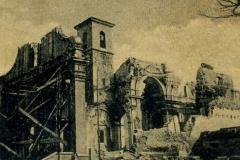Chiesa S.Giovanni B.in fase di ricostruzione dopo la guerra