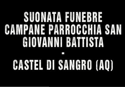 Suonata funebre – Campane Parrocchia San Giovanni Battista