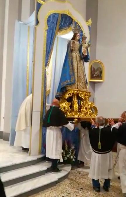 Nuova Statua Madonna del Rosario