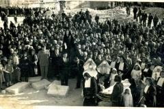 1947 processione venerdi santo sulle maceria di S.Giovanni(5) Madonna addolorata (4)