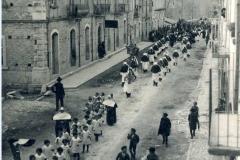 finerale mons.Frattura 1929 corso umberto