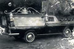 carro funebre degli anni 1950-60