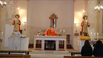 """La santa Messa de """"Lunedì dell'Angelo"""""""